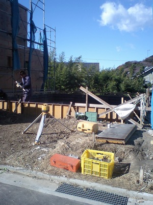 葉山 無垢材で建てる注文住宅 着工しました!