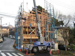 横須賀市|デザインのある歯科医院上棟しました!