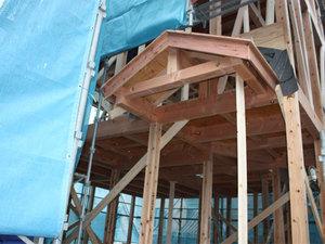 横浜 鶴見区に建つ家 上棟しました!