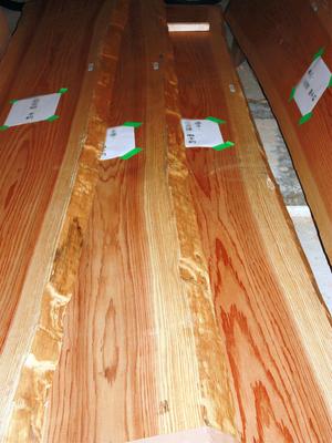 杉の無垢板材は完売です!