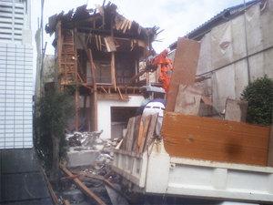横須賀市|S邸の解体工事が始まっています!