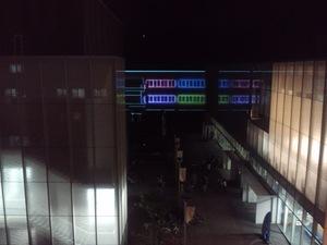 逗子小学校、夜の・・・