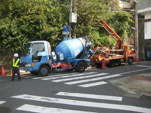 横須賀市浦郷|基礎工事が熱いです!