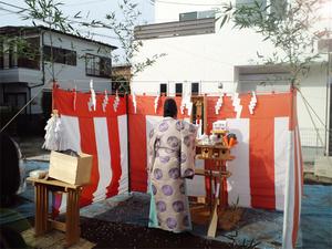 横浜市保土ヶ谷区にて地鎮祭!!