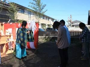 横須賀市津久井浜|地鎮祭☆