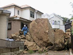 湘南・三浦半島の台風一過
