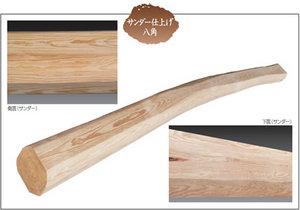 横須賀市長沢|吹き抜けに入れる丸太梁!