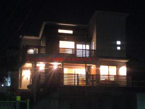 横須賀市長沢完成見学会前の現場