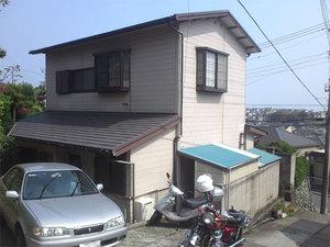 横須賀市二葉雨漏り修繕現場視察の巻