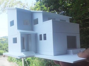 藤沢市長後新築一戸建ての注文住宅の模型が完成!