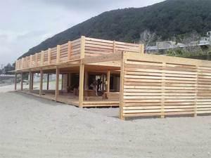 葉山町一色海岸海の家Splus建築中!PartⅡ