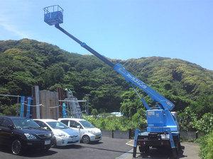 葉山町堀内ルーフバルコニーから湘南の海を見るぞ!|景観確認の巻!