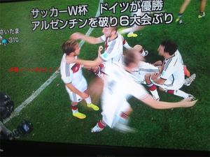 2014ワールドカップ決勝戦