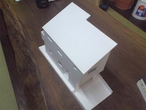 葉山町長柄に建てる新築の注文住宅の模型が完成しました!
