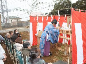 三浦市小網代にて地鎮祭☆