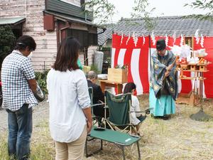 横須賀市秋谷『SHIP-博多丸』地鎮祭☆