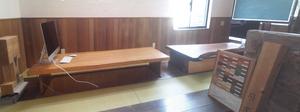 横須賀市の無垢材専門店が造る打ち合わせスペース&仕事場