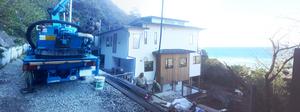葉山町下山口『Success Ai,s Residence』駐車場鉄骨基礎工事の現場に行って来ました☆