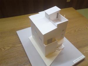 葉山町堀内|新築の注文住宅着工前のS邸住宅模型完成☆