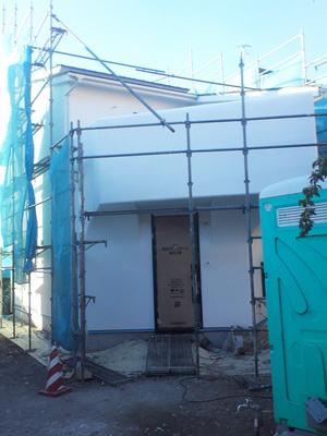 横須賀市秋谷『SHIP-博多丸』大工工事完了前の現場