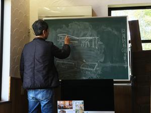 セルフビルドで書斎のデスクを造りたい!葉山町堀内『のんべんだらりの家』