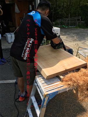 無垢板でシンプルな神棚を造りたい!|赤ケヤキの無垢板をDIYで削ってみよう!