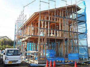 年内最後!構造見学会終了|三浦市初声町和田 創の家