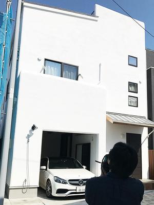 葉山町堀内ビルトインガレージのある家が注文住宅の取材を受けました☆