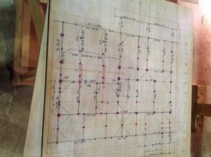 逗子に建つ湘南モデルハウス|プレカット図チェックの巻