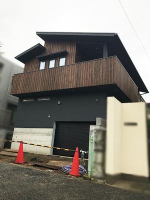 藤沢市片瀬山|chic&openの家に来ました!
