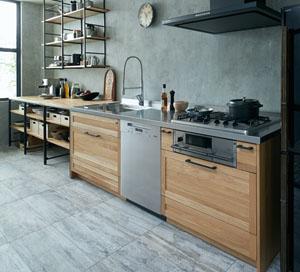 キッチンに可愛いテラコッタタイルを|果たしてその選択は良なのか?