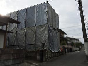 横浜市旭区新築工事現場|古家の解体工事が始まりました☆