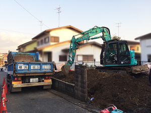 横浜市旭区古家解体後の地盤調査日程確定