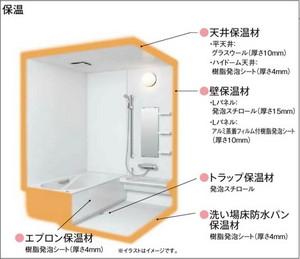 一戸建て住宅の在来工法浴室(バスルーム)あれこれ。