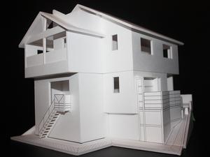 横須賀市に建てる新築の家プロジェクト|住宅模型が完成しました☆