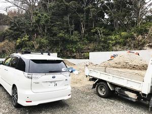逗子市逗子駅徒歩圏に家を建てる!購入した土地の造成状況を見に行って来ました!