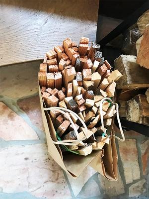 季節的に薪ストーブは使わない時期|それでも薪作りは欠かせない