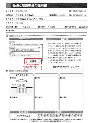 逗子市桜山中尾建築工房湘南モデルハウス|地盤調査結果