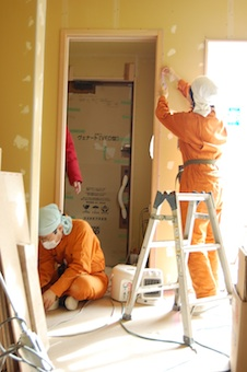 ナチュラルかつローコストの秘訣|壁塗り体験したい方は集まってください!
