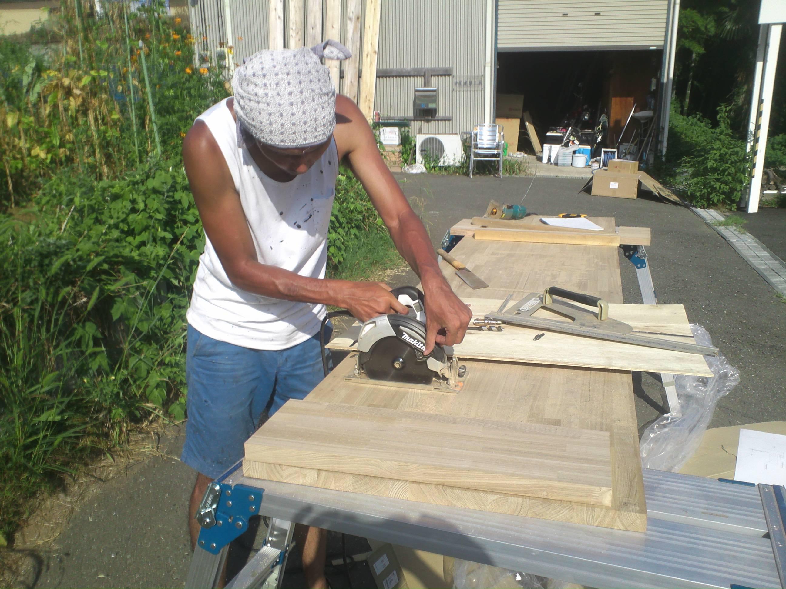 DIY作業を楽しむ!造作キッチン出来る・・・かな?!