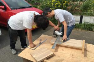 セルフビルドで書斎のデスクを造りたい!葉山町堀内『のんべんだらりの家』Part2