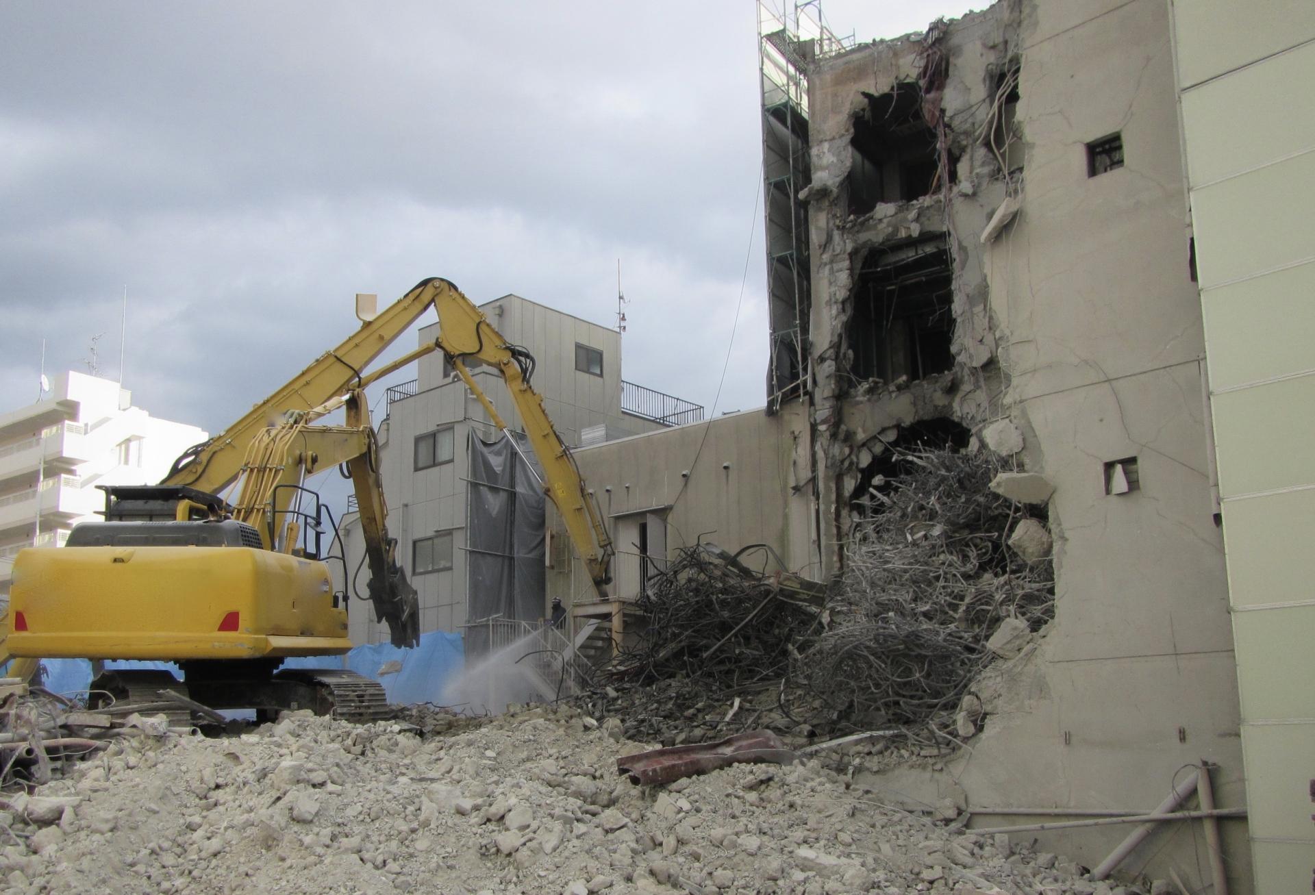 解体工事の見積りはアスベストに注意