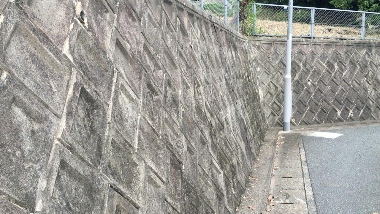 古い土留めや擁壁のある場合
