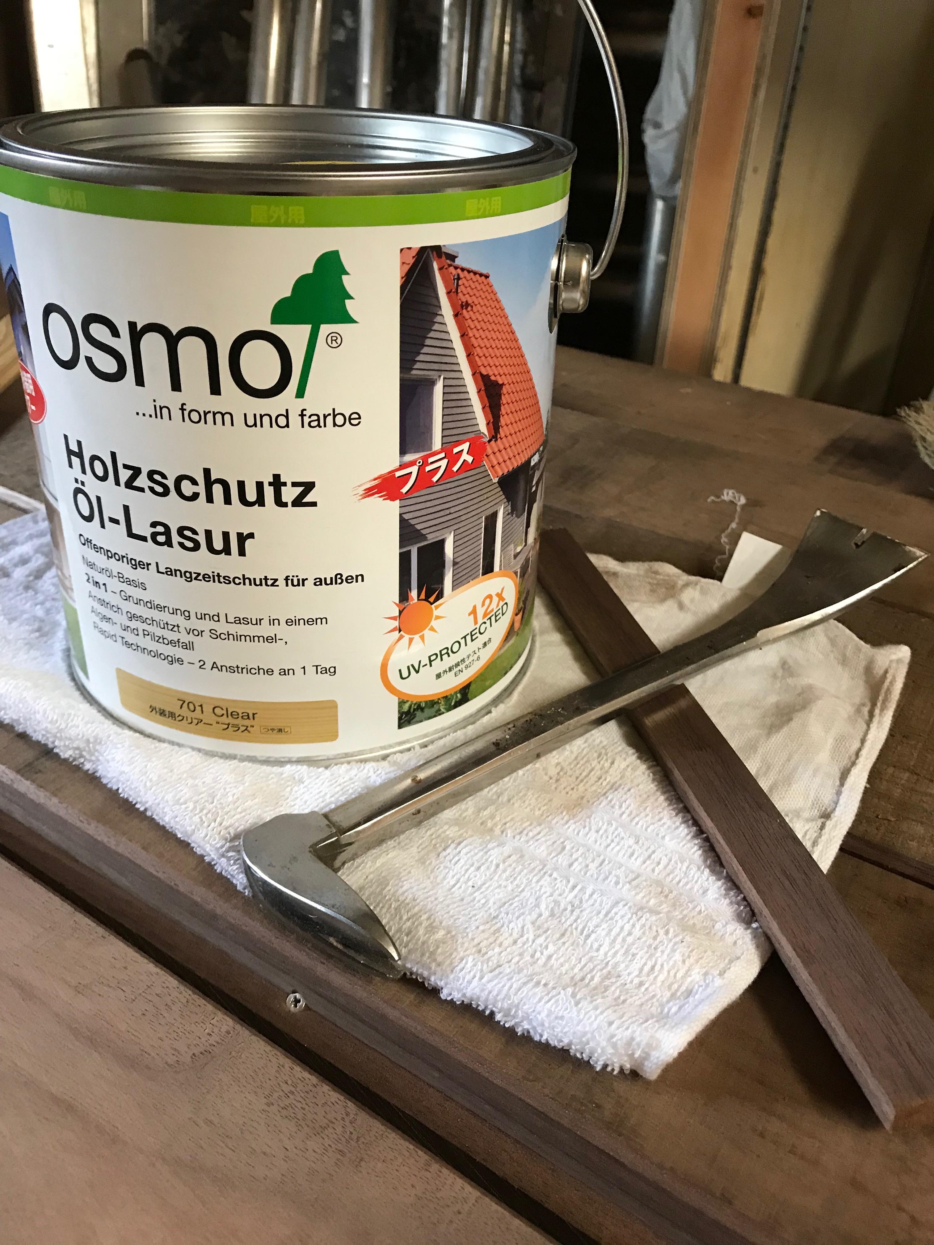 塗装作業と組み立て