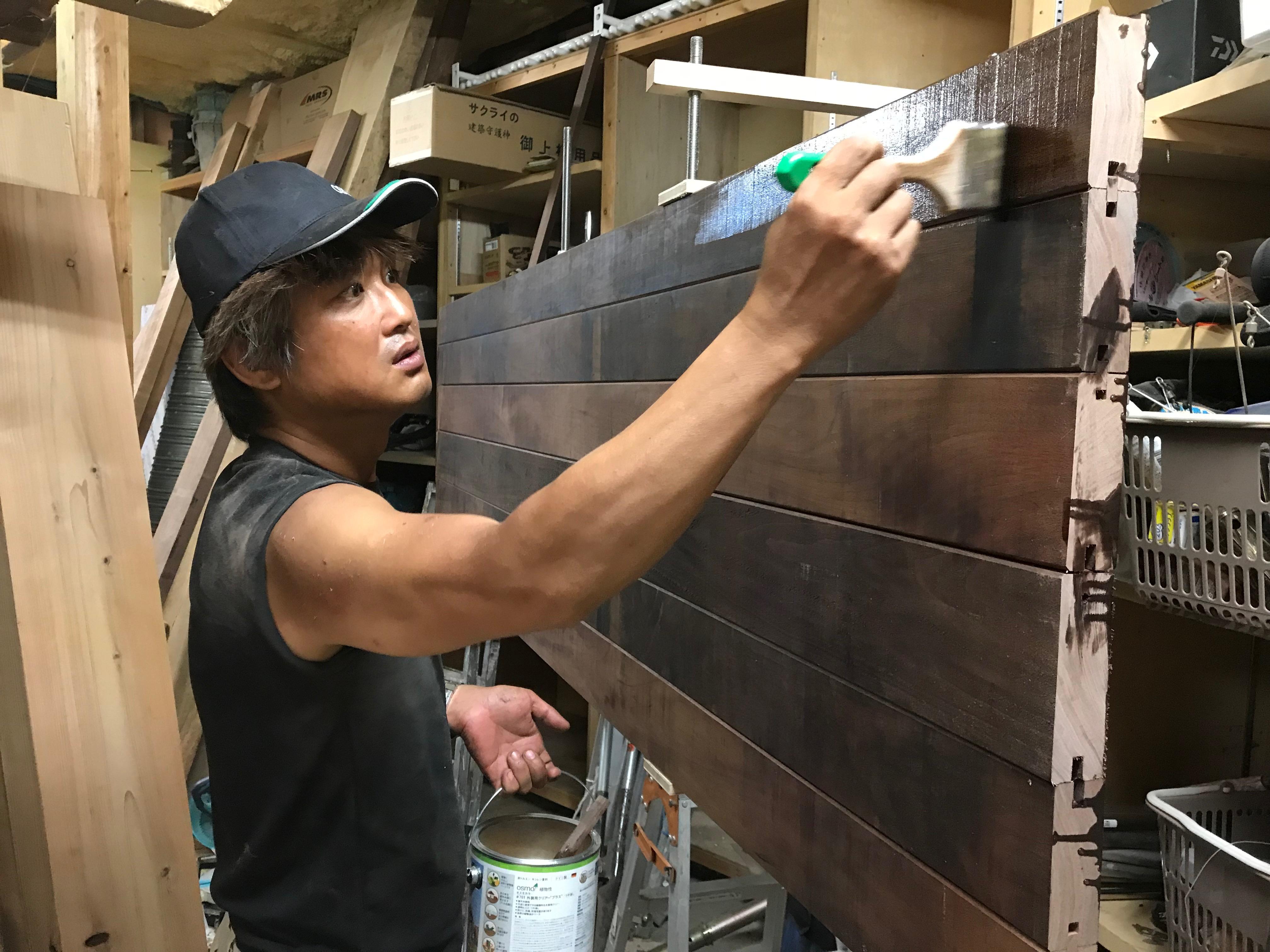 塗装作業と組み立て4