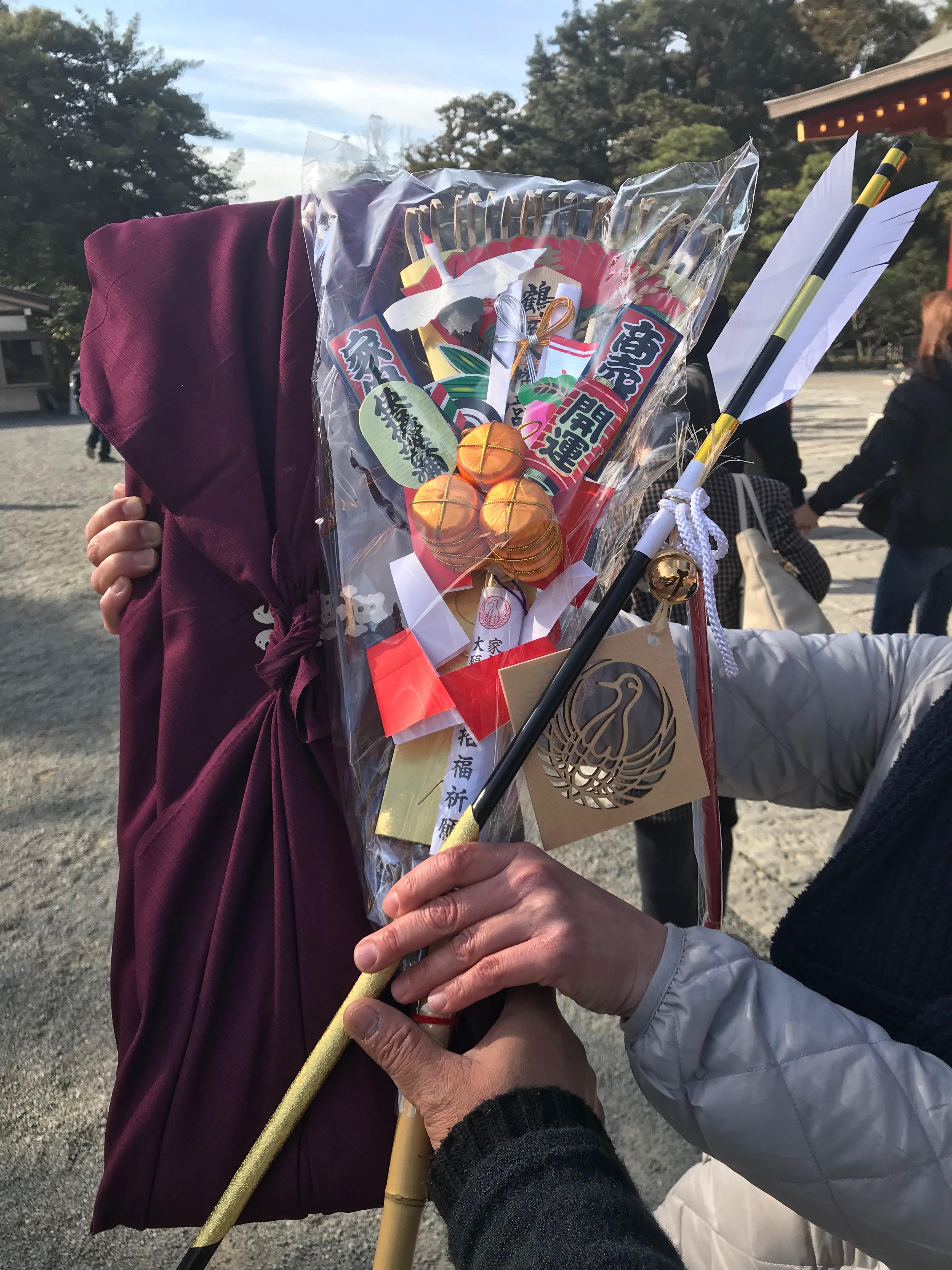 鎌倉の鶴岡八幡宮にてご祈祷3