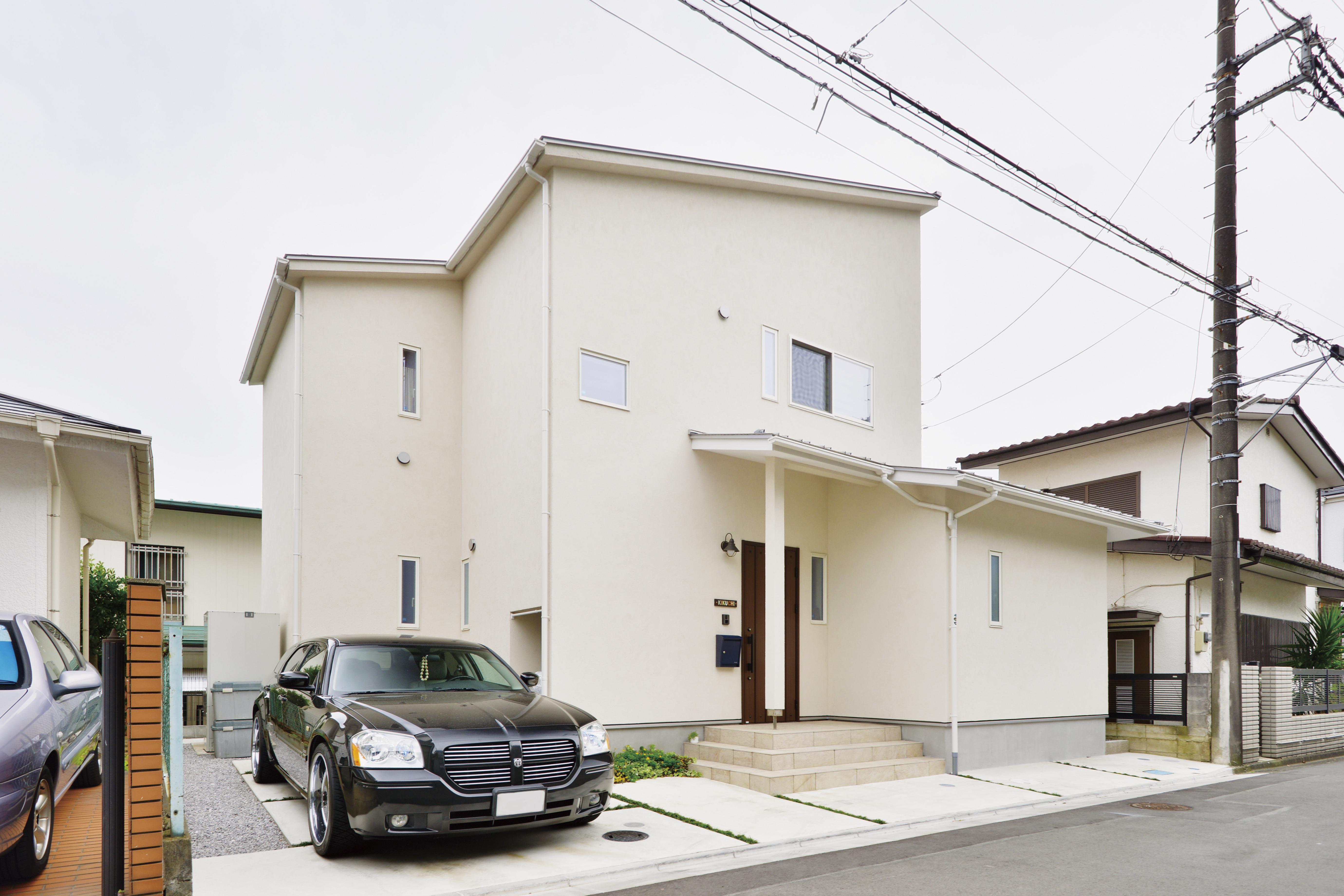 藤沢駅に通勤出来る家を建てる!Simple naturalの家