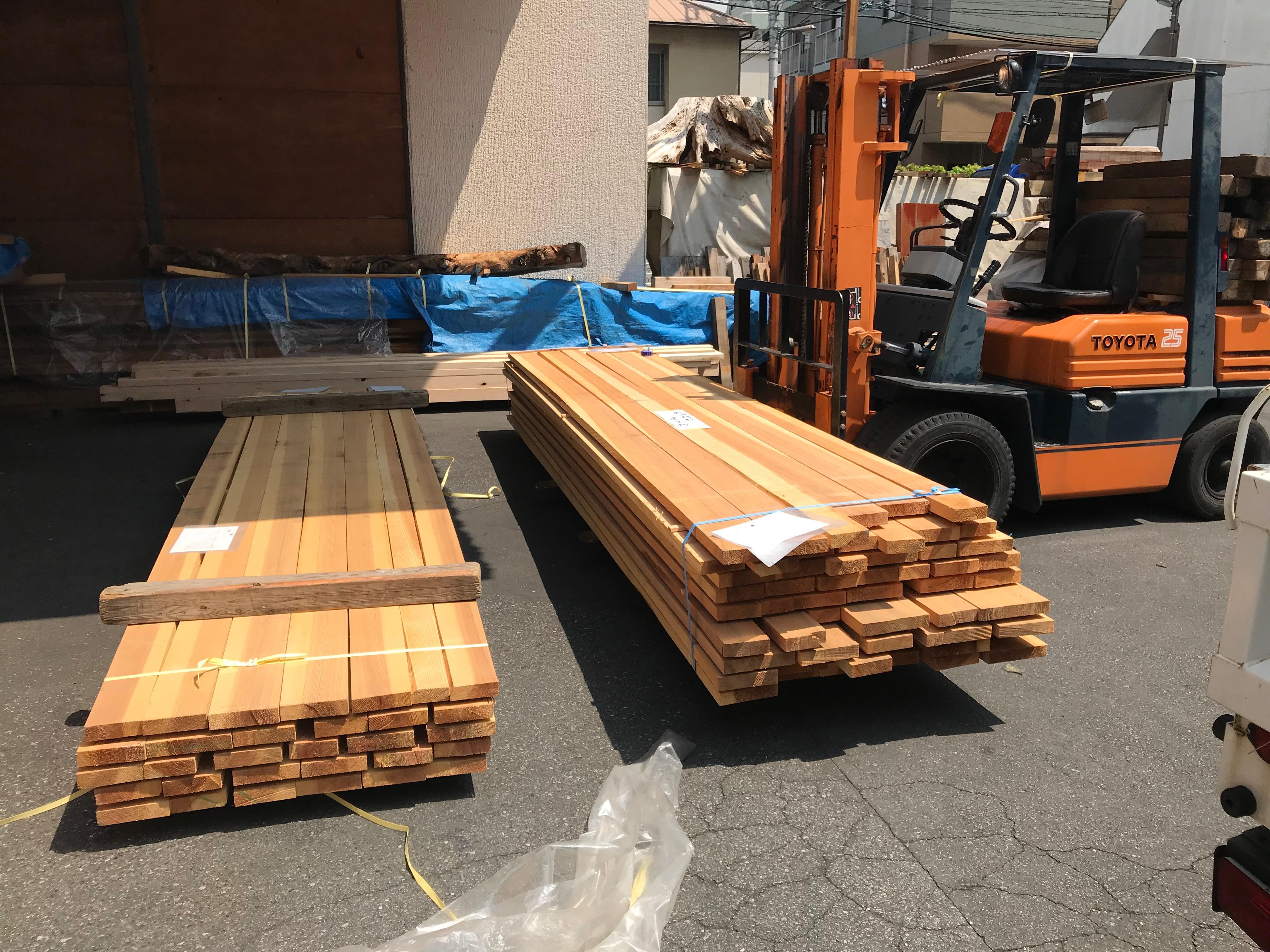 建具材の選定は乾燥材で