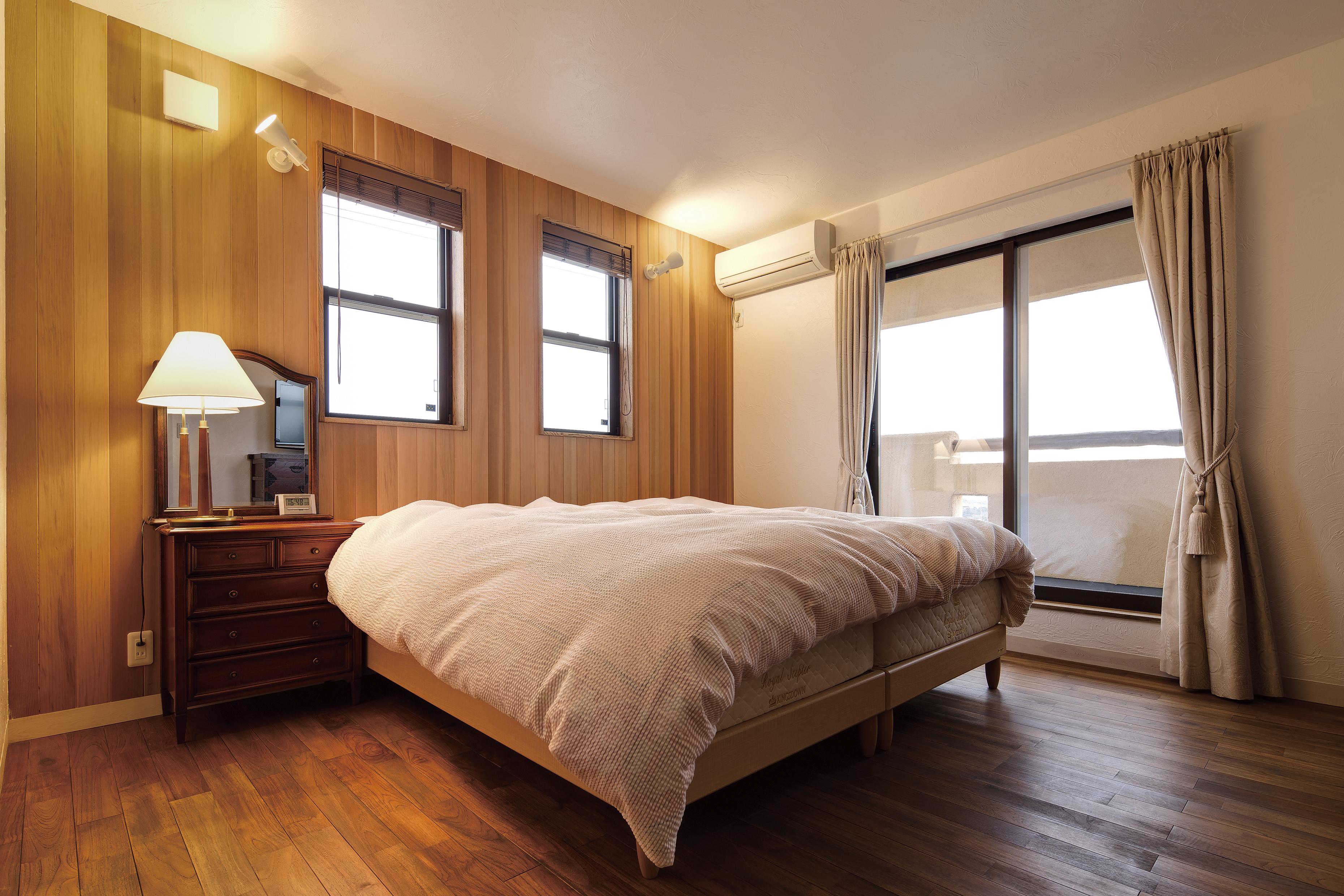 寝室ではゆっくりとご就寝ください
