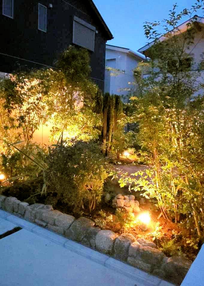 逗子のガーデンデザイナーさんが提案したお庭のショールーム